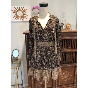 Zara Cheetah Print Mini Dress